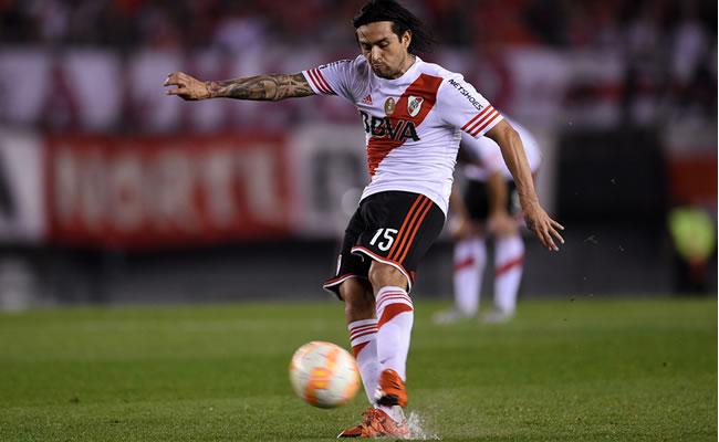 River Plate venció 3-1 a Chapecoense por la ida de los cuartos de final de la Copa Sudamericana. Foto: EFE