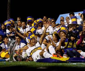 Boca grita campeón en Argentina