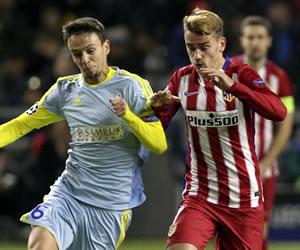 Atlético de Madrid no pudo con el Astana