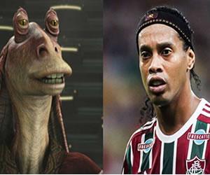 Star Wars y su parecido con las estrellas del fútbol mundial