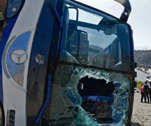 Así fue el accidente del bus de Huracán en Venezuela