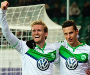 Wolfsburgo clasificó a cuartos de final con un gol de André Schürrle