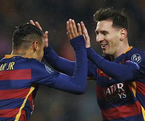 Barcelona venció al Arsenal y clasificó a cuartos por novena vez consecutiva