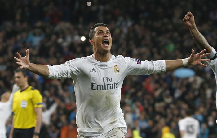 Cristiano Ronaldo marcó los tres goles de su equipo. Foto: EFE