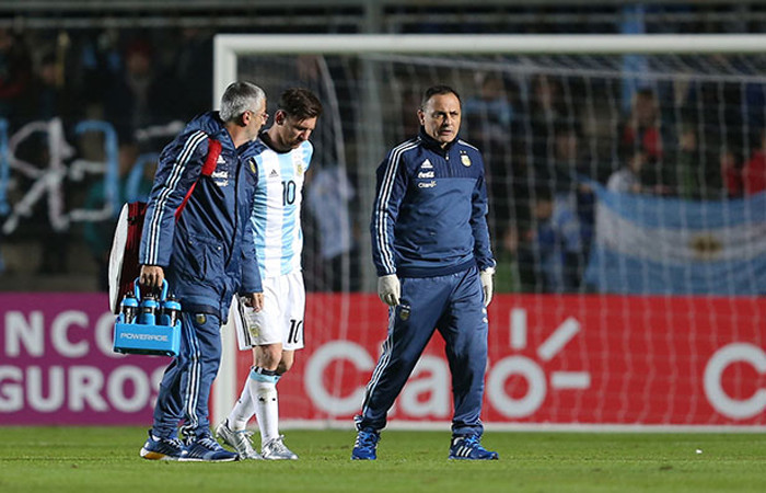 Messi esta mucho mejor. Foto: EFE