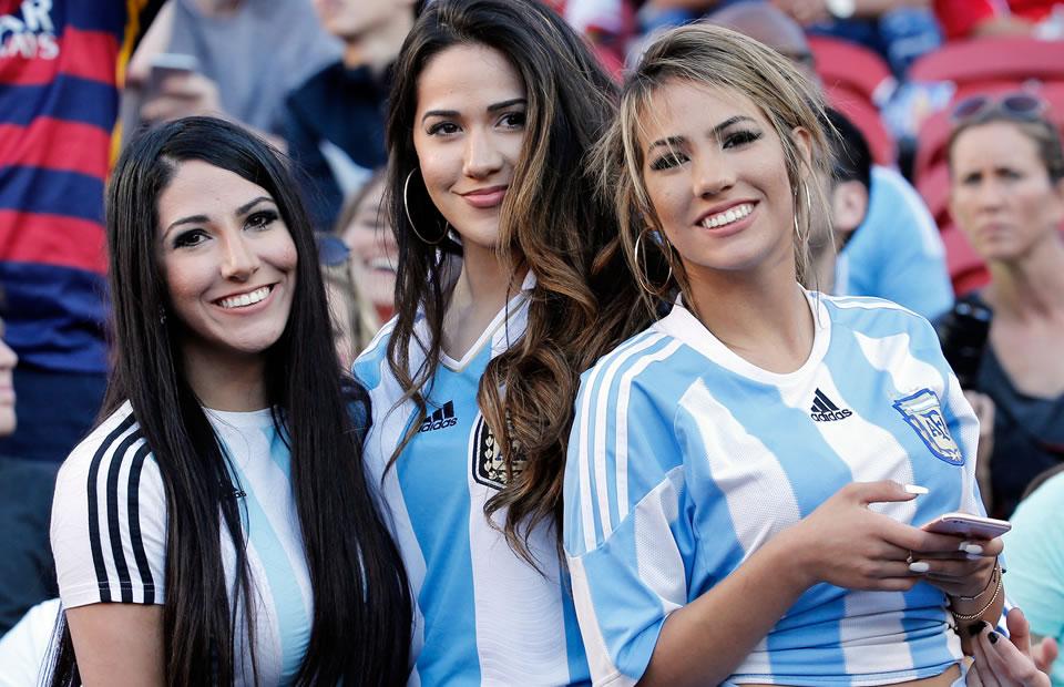 Argentina venció a Chile. Foto: EFE