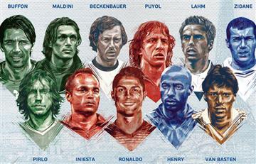 Eurocopa 2016: este es el equipo ideal de la historia del certamen