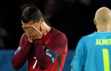 Eurocopa 2016: Cristiano Ronaldo falló penal y Portugal no pudo ganar