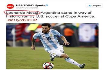 Messi es víctima de los memes por error gringo