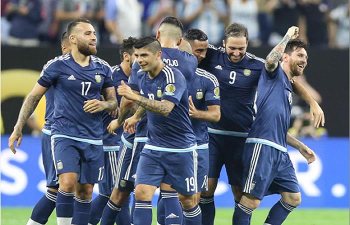 Argentina goleó a Estados Unidos y va a la final de la Copa América. Foto: EFE