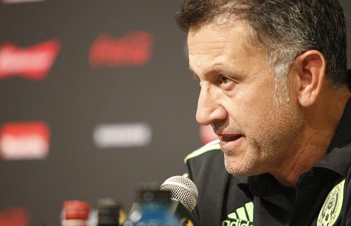 Juan Carlos Osorio. Foto: EFE