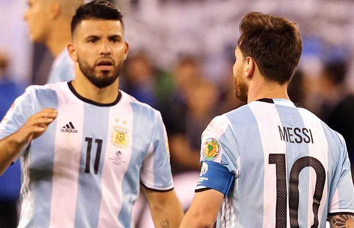 Sergio Agüero podría retirarse también de la selección Argentina. Foto: EFE