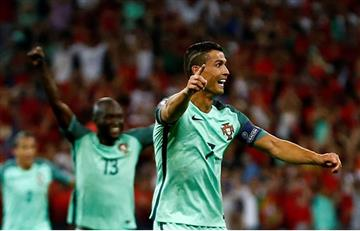 Eurocopa 2016: de la mano de Ronaldo, Portugal clasificó a la final
