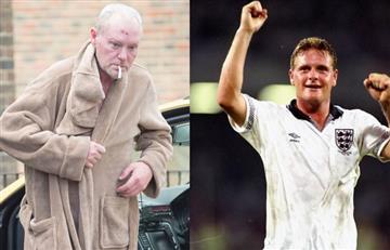 Paul Gascoigne, exfutbolista inglés, mostró su más lamentable estado