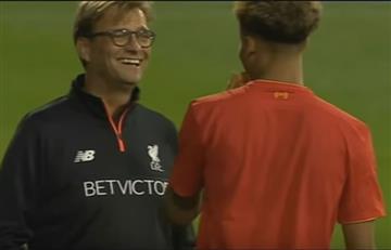 YouTube: Arquero del Liverpool debutó como delantero
