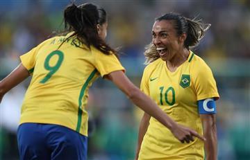 Río 2016: Brasil venció cómodamente a China en su debut