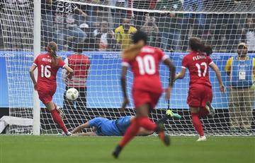 Río 2016: Canadá ganó y marcó el gol más rápido de los Juegos Olímpicos