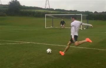 Gareth Bale: Golazo y una loca celebración