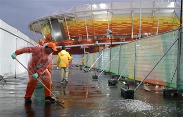 Río 2016: Lluvia cancela toda la jornada de Tenis