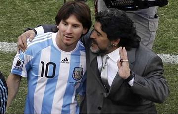 Maradona y sus polémicas declaraciones en contra de Messi