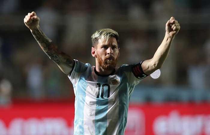Argentina ganó y goleó a Colombia en San Juan. Foto: EFE