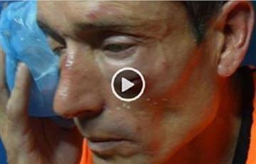 Video: Fuerte agresión a un árbitro en Argentina