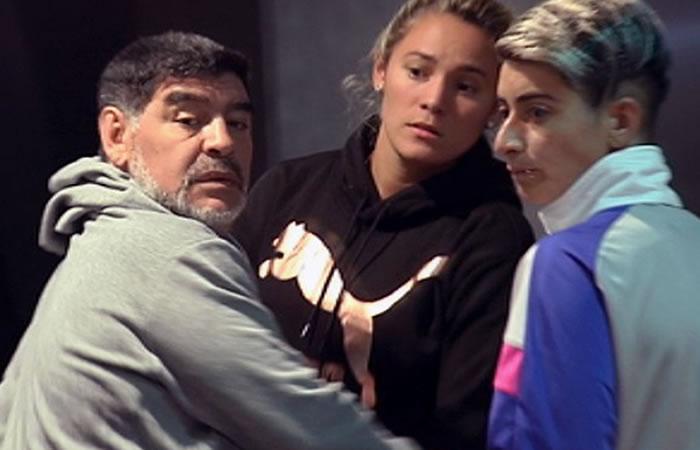 Maradona: Su novia se niega a declarar tras escándalo en un hotel