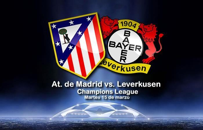 Atlético de Madrid vs. Leverkusen: Transmisión EN VIVO