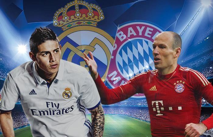 Real Madrid vs. Bayern Múnich: Transmisión EN VIVO