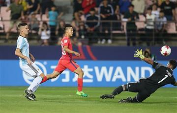Mundial Sub 20: Argentina fracasa tras perder con Corea del Sur