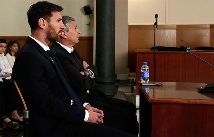 Messi se libra de la prisión con una multa de 252.000 euros