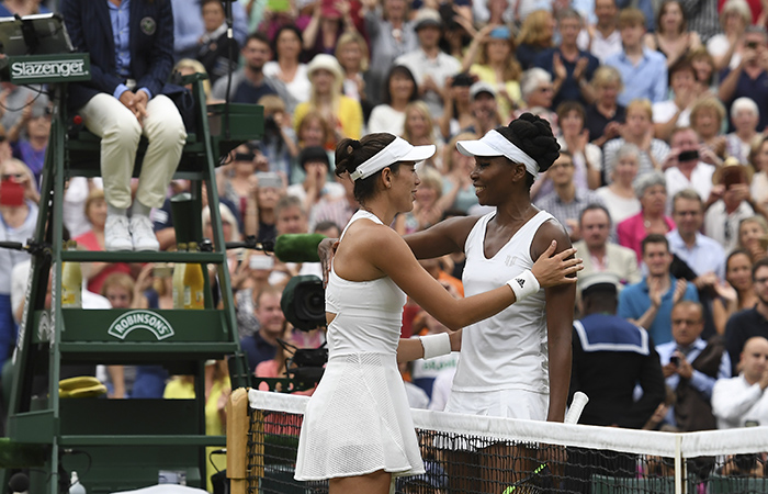 Wimbledon: Venus Williams pierde en la gran final contra Garbiñe Muguruza