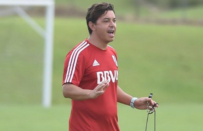 """Gallardo: """"Estaba más cerca de irme que de quedarme"""". Foto: Twitter"""