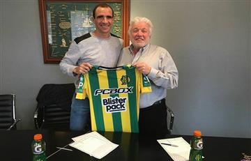 Somoza es nuevo jugador de Aldosivi