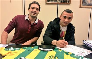 Telechea es nuevo jugador de Aldosivi
