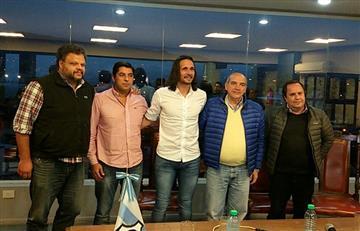 Martín Astudillo es presentado como nuevo técnico de Gimnasia y Esgrima de Jujuy