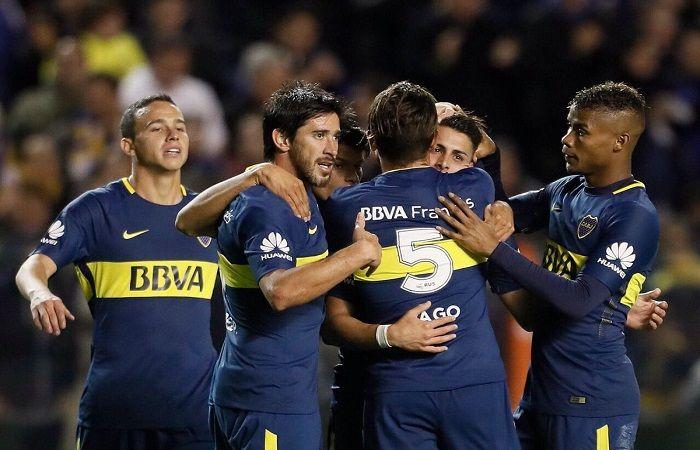 Boca vence a Villareal en La Bombonera. Foto: Twitter