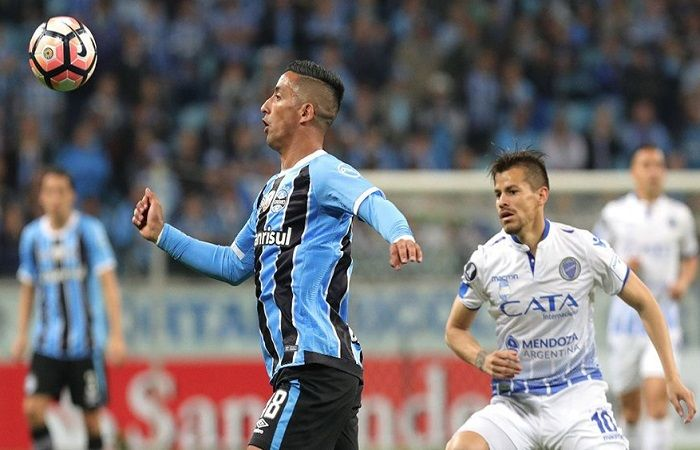 Godoy Cruz eliminado de la Copa Libertadores. Foto: Twitter