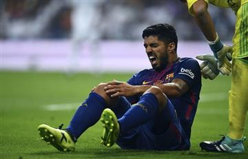 Eliminatorias: Suárez no jugará contra Argentina