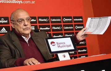 Superliga: Presidente de Newell's afirma que no le debe a nadie