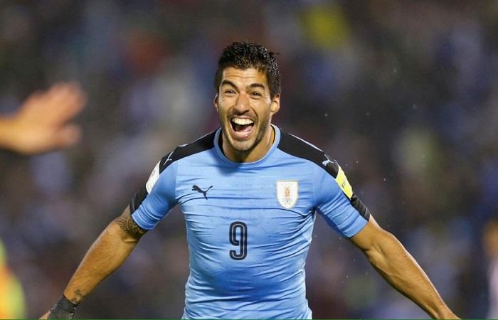 Suárez jugará ante Argentina. Foto: Twitter