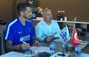 Sosa es nuevo jugador del Trabzonspor