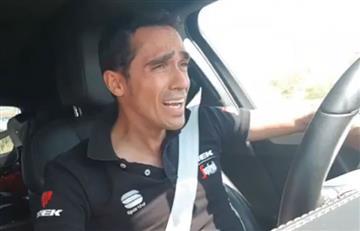 Alberto Contador y la divertida broma en la que cayeron sus seguidores