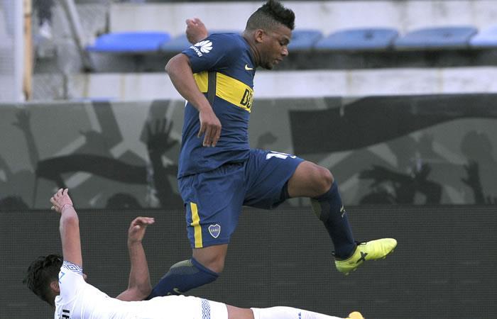 Boca, con los colombianos Fabra, Barrios y Cardona, es eliminado de Copa Argentina. Foto. AFP