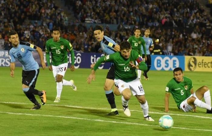 Bolivia intentó pero cayó ante Uruguay en Montevideo