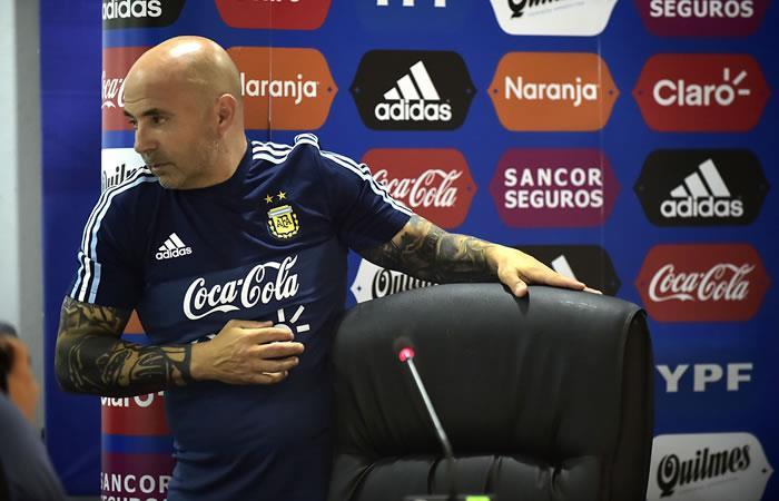 """Sampaoli afirma que Messi """"no le debe el Mundial"""" a Argentina"""