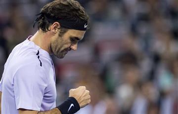 Roger Federer vence en la final de Shangai a Rafael Nadal