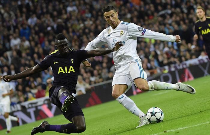 Tottenham de Dávinson Sánchez empató con el Madrid de Cristiano