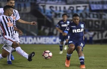 Libertad venció por lo mínimo a Racing Club en Asunción