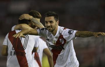 River Plate le saca ventaja a Lanús en primera semifinal de la Copa Libertadores